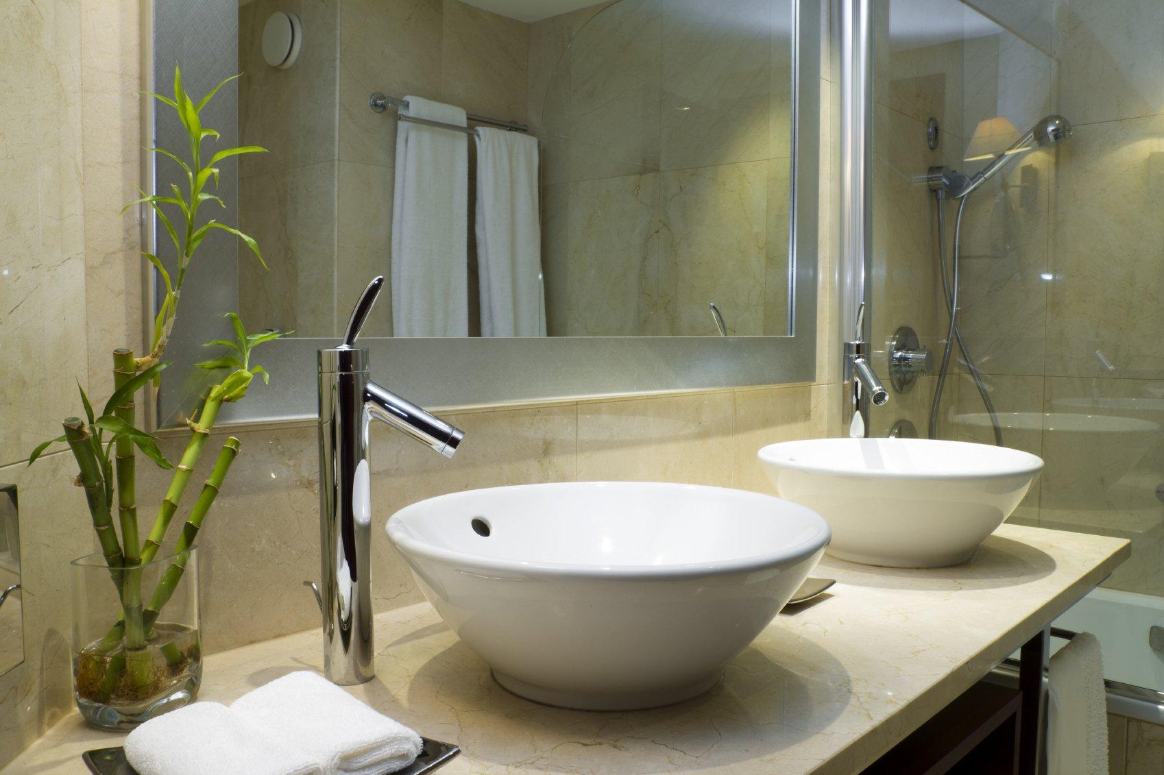 Badezimmer Modern Beige – HB-Heizung